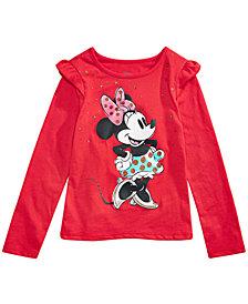 Disney® Toddler Girls Raining Stars Minnie Mouse T-Shirt
