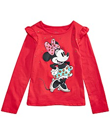 Disney® Toddler Girls Raining Stars Minnie Mouse T-Shirt