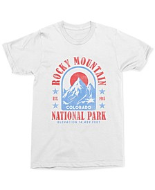 Rocky Mountains Men's Graphic T-Shirt