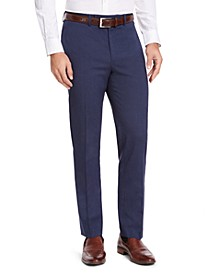 Men's Classic-Fit Medium Blue Suit Pants