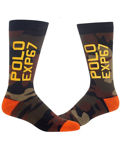 Polo Ralph Lauren Polo Men's Terrain EXP67 Crew Socks