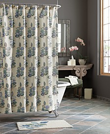 "Mosaic Leaves Spa 70"" x 72"" Shower Curtain"