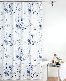 "Croscill Charlotte 72"" x 84"" Extra Long Shower Curtain"