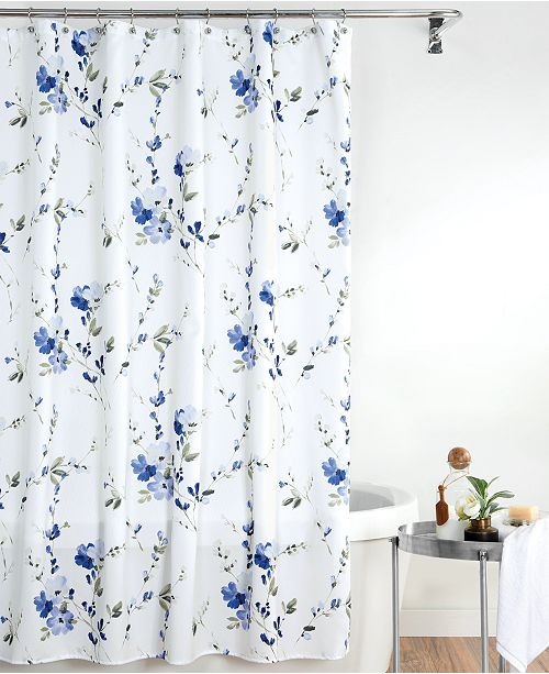 Charlotte 72 X 84 Extra Long Shower Curtain