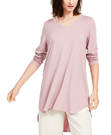 Eileen Fisher High-Low Tunic, Regular & Petite, Created For Macy's