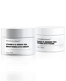 Herbal Dynamics Beauty Vivid Revival Brightening Eye Mask and Eye Cream Duo