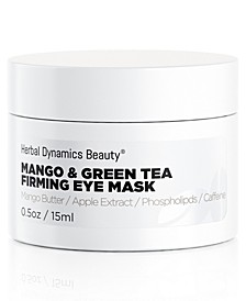 Mango and Green Tea Firming Eye Mask