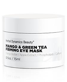 Herbal Dynamics Beauty Mango and Green Tea Firming Eye Mask