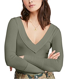 Lily Textured Seam-Detail Top