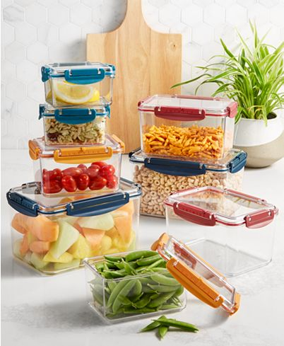 16-Pieces Tools of the Trade Tritan Food Storage with Lids