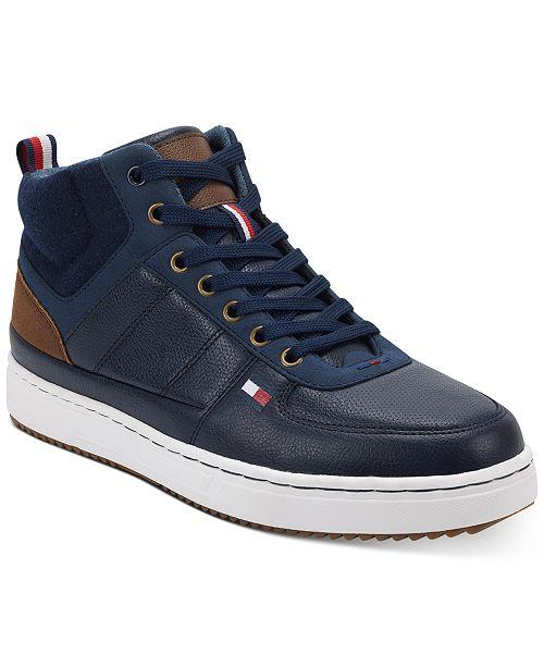 Tommy Hilfiger Men's Manzu Sneaker Boots