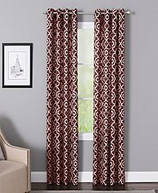 "Bennett 50"" x 63"" Geometric Print Curtain Panel"