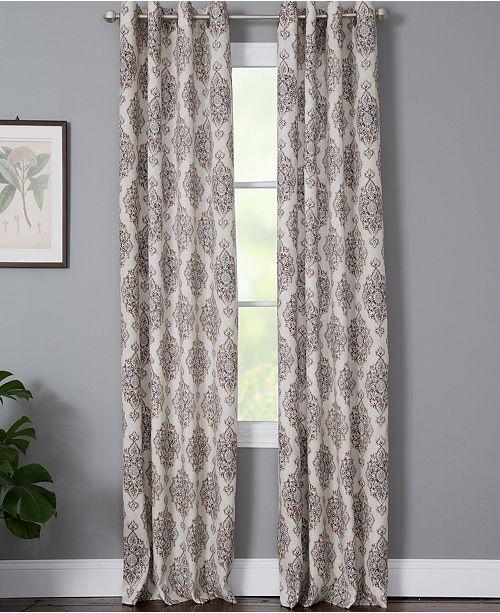 "Windham Weavers Zia 50"" x 63"" Medallion Print Window Panel"