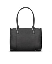 "Solo Jay Leather 15.6""  Laptop Tote"