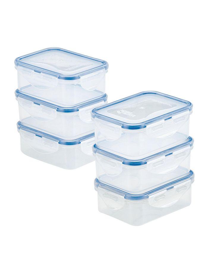 Lock n Lock - Easy Essentials Rectangular 12-Pc. Food Storage Container Set, 11-Oz.