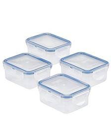 Easy Essentials Rectangular 6-Oz. Food Storage Container, Set of 4