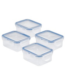 Lock n Lock Easy Essentials™ Rectangular 6-Oz. Food Storage Container, Set of 4