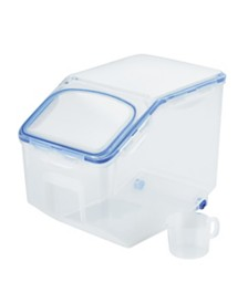 Lock n Lock Easy Essentials™ 50-Cup Food Storage Container with Flip Lid and Serving Cup