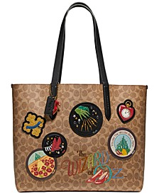 Wizard Of Oz Coated Canvas Highline Tote