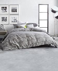 Dot Chevron Queen Comforter Set