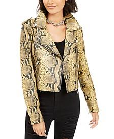 Roni Faux-Leather Jacket