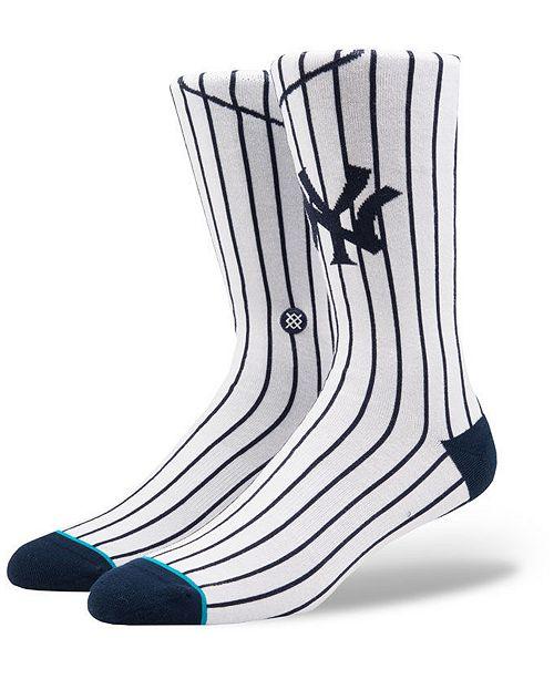 Stance New York Yankees Home Jersey Series Crew Socks
