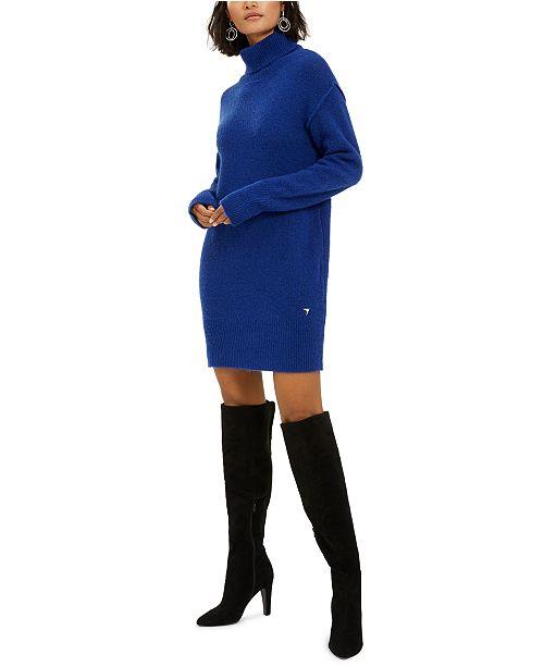 GUESS Turtleneck Sweater Dress