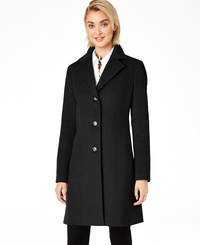 Calvin Klein - Single-Breasted Coat