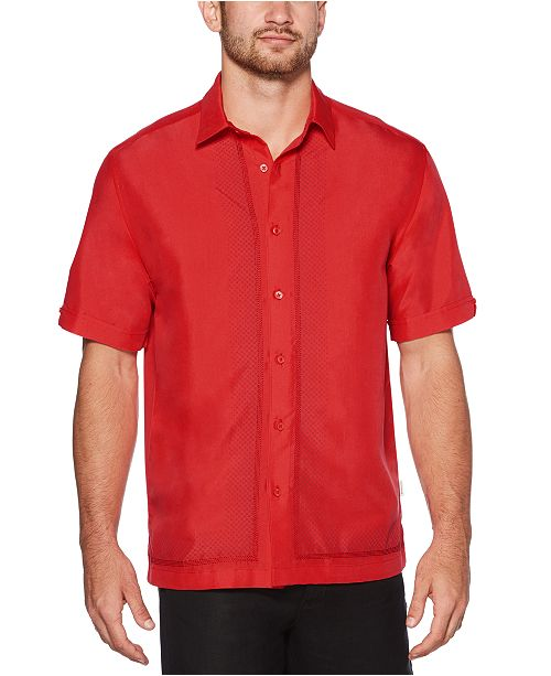 Cubavera Men's Regular-Fit Ombré Geometric Shirt