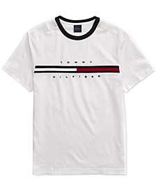 Men's Tino T-Shirt with Magnetic Closure at Shoulders