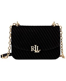 Quilted Velvet Madison Crossbody