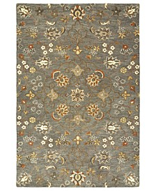 Helena 3215-102 Pewter Green 9' x 12' Area Rug