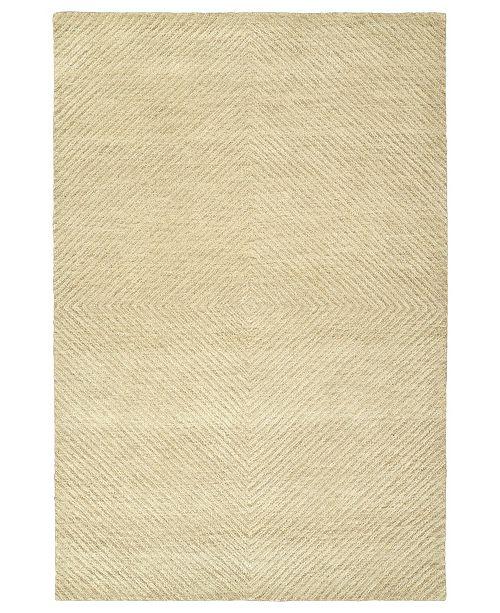 "Kaleen Textura TXT03-29 Sand 5' x 7'9"" Area Rug"