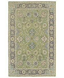 """Weathered WTR08-96 Lime Green 5' x 7'6"""" Area Rug"""