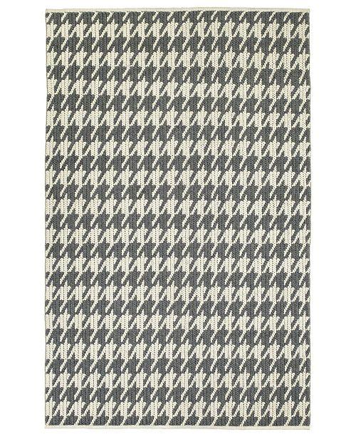 """Kaleen Paracas PRC04-68 Graphite 3'6"""" x 5'6"""" Area Rug"""