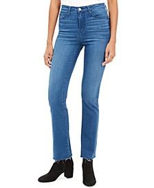 High-Rise Mini Bootcut Jeans
