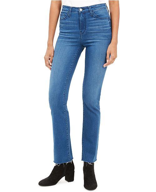 FLYING MONKEY High-Rise Mini Bootcut Jeans