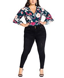 Trendy Plus Size Asha Rocker Skinny Jeans
