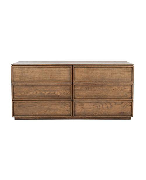 Safavieh Zeus 6-Drawer Dresser