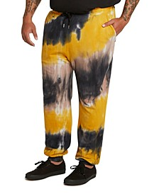 MVP Collections Men's Big & Tall Tie-Dye Jogger