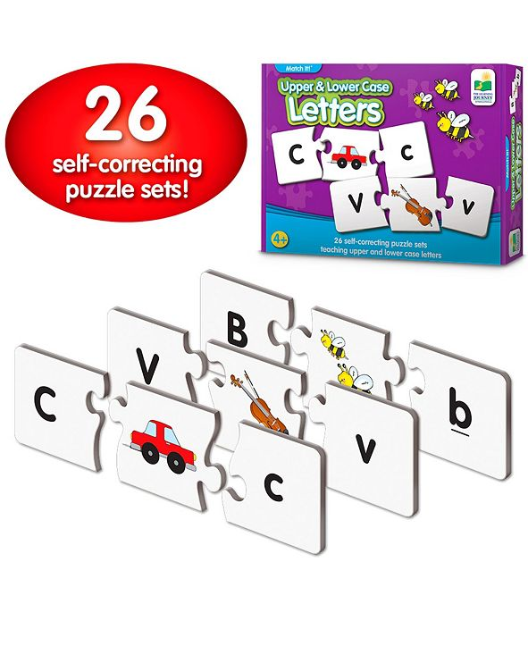 The Learning Journey Match It- Upper and Lower Case Letters