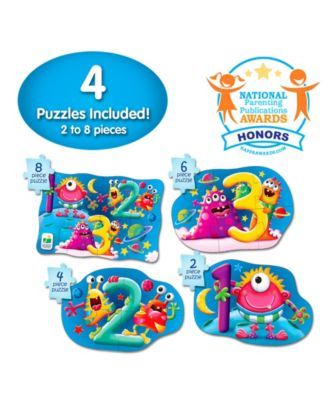 The Learning Journey My First Puzzle Sets 4 in a Box Puzzles- 123