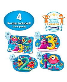 My First Puzzle Sets 4 in a Box Puzzles- 123