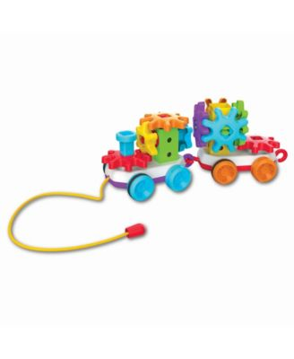 The Learning Journey Techno Kids Stack and Spin Pull Along Train