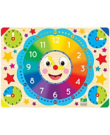 Lift and Learn Clock Puzzle