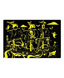 Puzzle Doubles- Glow In the Dark- Pirate Ship