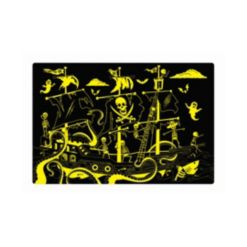 The Learning Journey Puzzle Doubles- Glow In the Dark- Pirate Ship