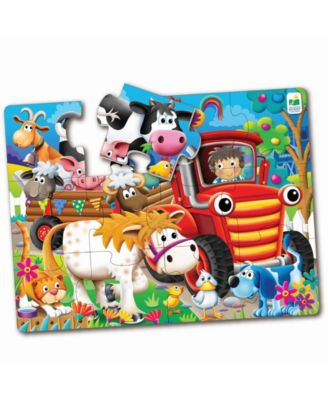 The Learning Journey My First Big Floor Puzzle- Farm Friends
