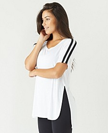 Stripe Far Out Tee - Top