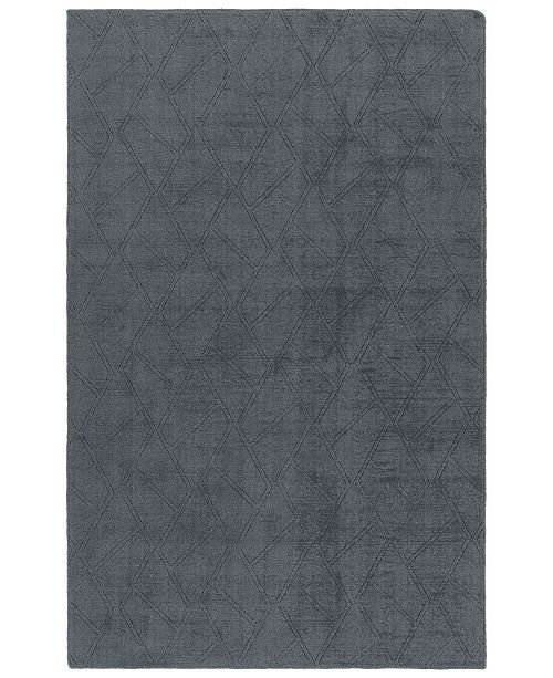 "Kaleen Minkah MKH04-83 Steel 7'6"" x 9' Area Rug"